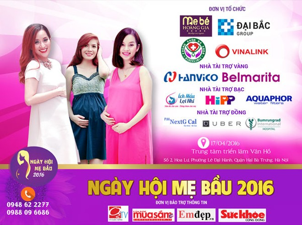 Đan Lê, Lykute sẽ tái xuất cùng nhau tại sự kiện Ngày hội mẹ bầu 2016 ảnh 2