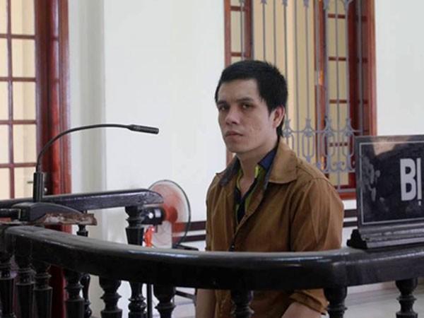 Bị cáo Lương Văn Lý trong phiên xét xử.