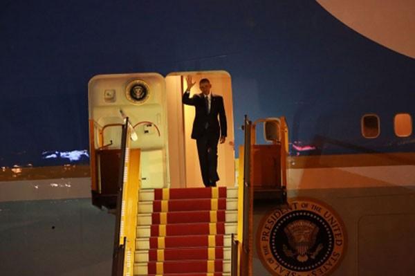 Tổng thống Obama đến Hà Nội tối 22/5.