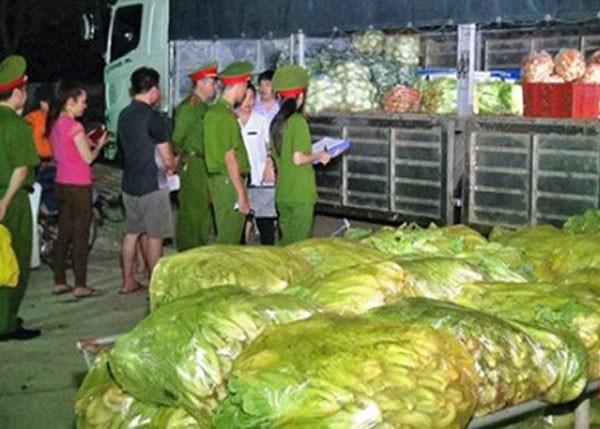 Rau cải Trung Quốc có hàm lượng thuốc bảo vệ thực vật tồn dư gấp 8 lần mức cho phép.