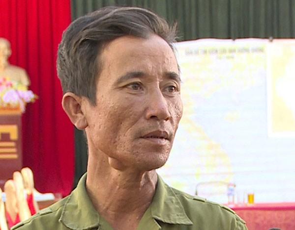 Ngư dân Phan Văn Lệ kể lại thời khắc cứu Thiếu tá Cường.