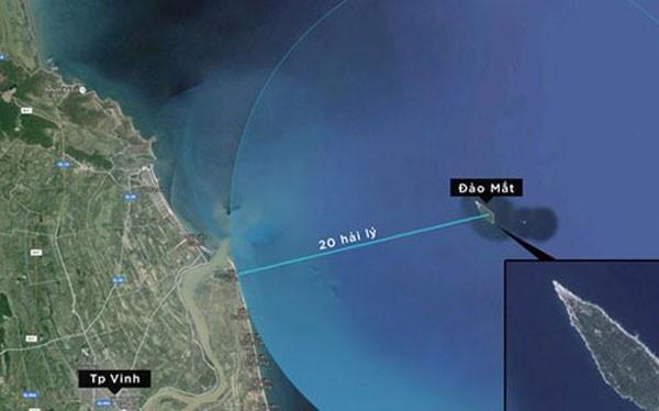 Vị trí nơi chiếc Su-30 MK2 mất dấu trên màn hình radar