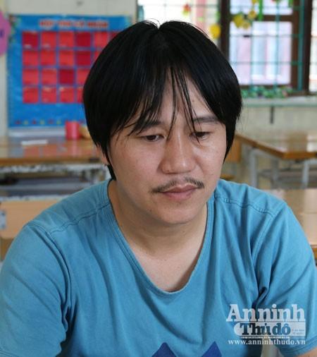 Đối tượng Lê Ngọc Văn là một trong số 12 đối tượng bị bắt giữ trong đường dây