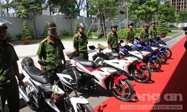 Những chiếc xe mới này sẽ được phân về các đơn vị tuần tra phòng chống cướp giật.