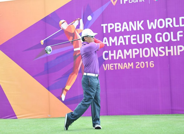 """Hấp dẫn vòng loại """"Giải vô địch Golf thế giới TPBank – TPBank WAGC 2016"""""""