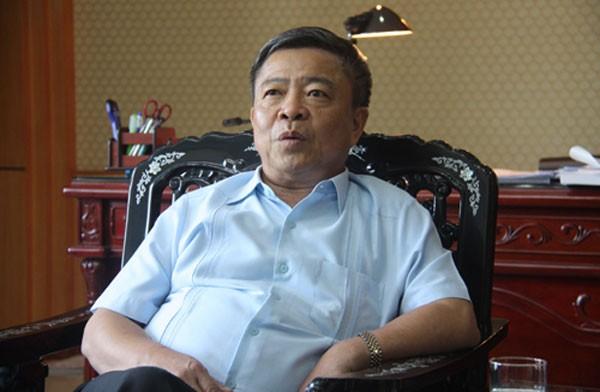 Ông Võ Kim Cự, nguyên bí thư tỉnh ủy Hà Tĩnh. Ảnh: Võ Hải.