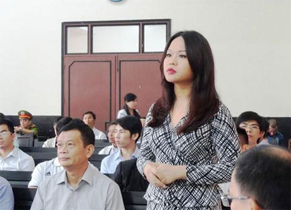 Bà Trần Ngọc Bích - Ảnh: Hồng Cơ.