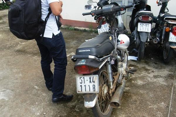 Chiếc xe gắn máy là phương tiện Nguyễn Văn Dương dùng để thực hiện phạm tội