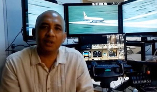 Cơ trưởng của chuyến bay MH370.