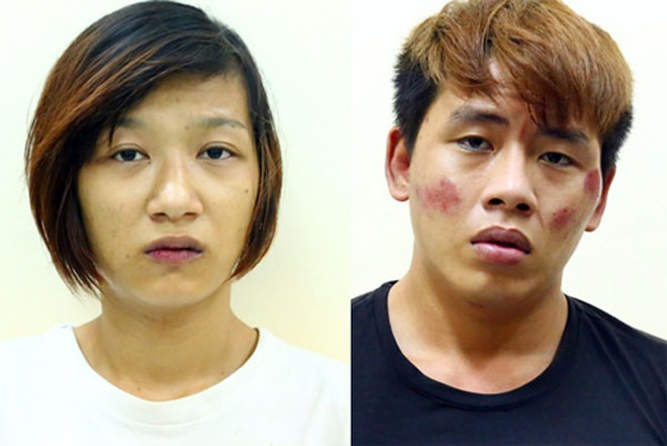 Hai nghi can bị bắt giữ.