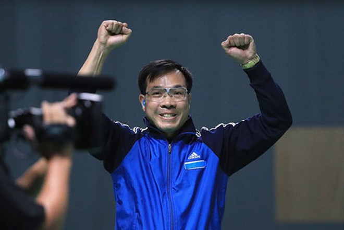 Xạ thủ Hoàng Xuân Vinh đã giành 1 HCV, 1 HCB Olympic