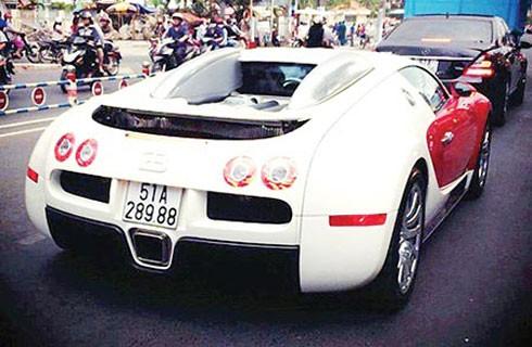 """Một trong số các siêu xe của thiếu gia Minh """"Nhựa""""."""