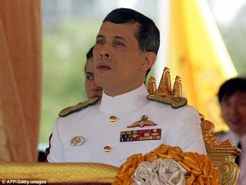 Hoàng Thái tử Maha Vajiralongkorn.