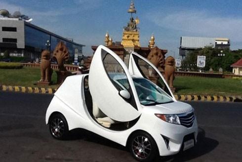 Xe ô tô Angkor EV 2014 của Campuchia ra mắt từ năm 2014