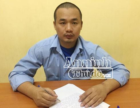 Đối tượng Nguyễn Xuân Quyền.