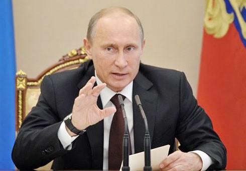 Ông Putin không đáp trả lệnh trừng phạt mới của Mỹ.