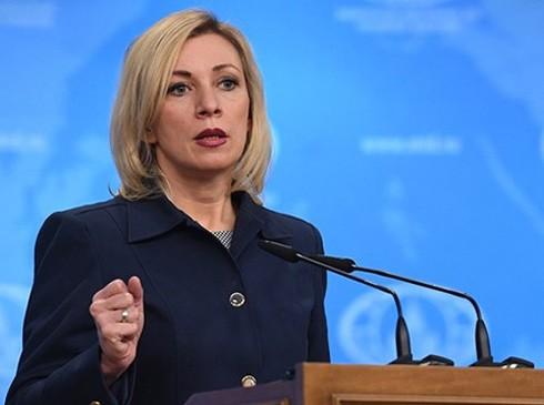 Phát ngôn viên Bộ Ngoại giao Nga- bà Maria Zakharova.