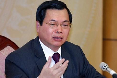 Ông Vũ Huy Hoàng đã bị xóa tư cách nguyên Bộ trưởng vì có nhiều sai phạm nghiêm trọng.