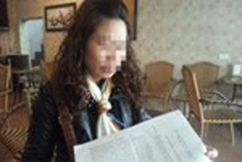 Mẹ của cháu bé gửi đơn tố cáo khẩn cấp tới cơ quan Công an.