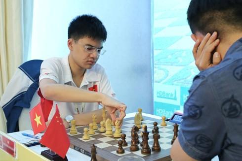 Ván đấu giữa Anh Khôi - Wang Hao