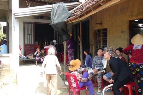 Ngôi nhà của vợ chồng Trai và Thanh.