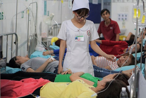 Hàng trăm công nhân nhập viện không phải do ngộ độc thực phẩm.