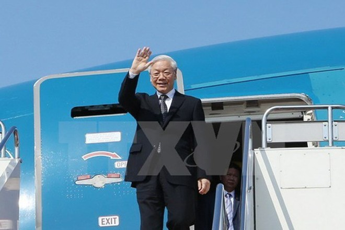 Tổng Bí thư Ban Chấp hành Trung ương Đảng Cộng sản Việt Nam Nguyễn Phú Trọng. (Ảnh: Trí Dũng/TTXVN).