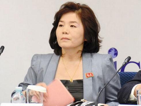 Bộ Ngoại giao Triều Tiên Choe Son-hui.
