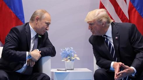 Tổng thống Mỹ Donald Trump và Tổng thống Nga Vladimir Putin.