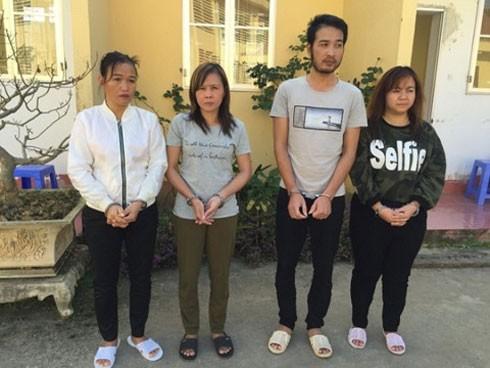 Nhóm đối tượng bán trẻ em sang Trung Quốc.