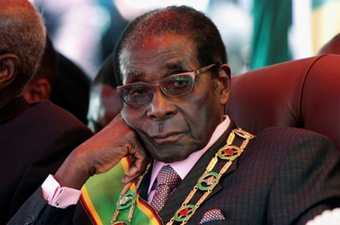 Tổng thống Mugabe.