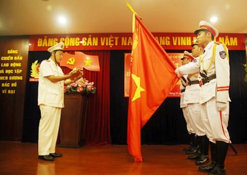 Ra mắt Đồn Công an Cảng hàng không quốc tế Tân Sơn Nhất.