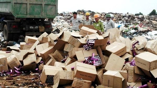 Tổ chức tiêu huỷ hơn 7 tấn mỹ phẩm nhập lậu ảnh 3