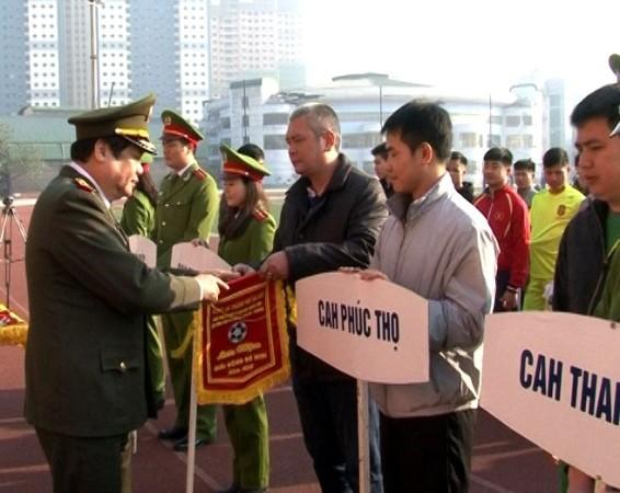 Giải đấu thu hút sự tham gia của đông đảo của cán bộ chiến sỹ các đơn vị