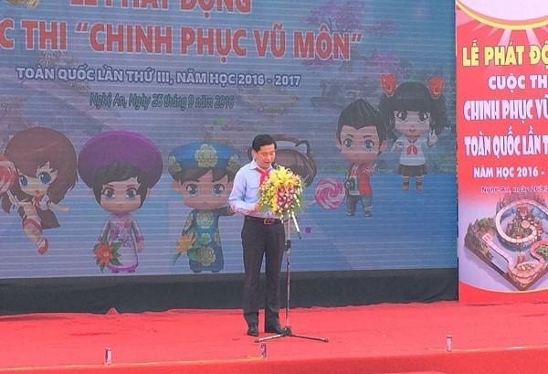 Đồng chí Nguyễn Long Hải – Bí thư Ban Chấp hành Trung ương Đoàn, Chủ tịch Hội đồng Đội Trung ương, đánh giá cao cuộc thi