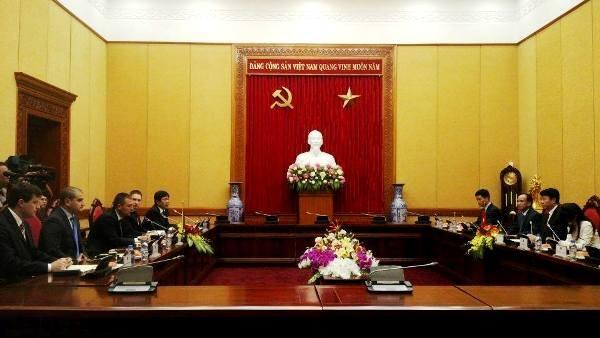 Hội đàm giữa Bộ Công an Việt Nam và Cơ quan an ninh Cộng hòa Bun-ga-ri