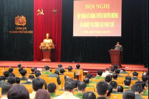 Nhiều văn bản quy phạm pháp luật được phổ biến tại hội nghị