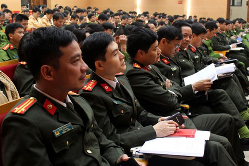 Lớp tập huấn nhằm nâng cao công tác tuyên truyền pháp luật trong tình hình mới