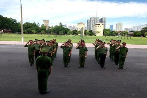 Thông qua tập huấn, ý thức chấp hành điều lệnh của CBCS được nâng cao
