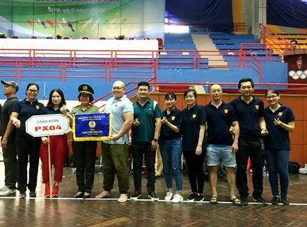 Đội kéo co Công đoàn Báo An ninh Thủ đô xuất sắc đoạt giải Nhì Cụm thi đua số 2