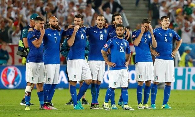 Italia chia tay EURO 2016 chỉ vì thiếu may mắn trước người Đức