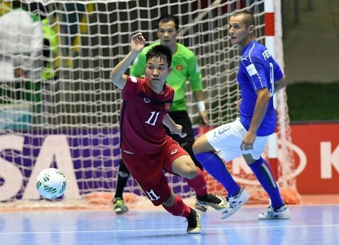 Sự kiện, futsal Việt Nam lọt vào vòng 1/8 FIFA futsal World Cup 2016 được nhiều cơ quan