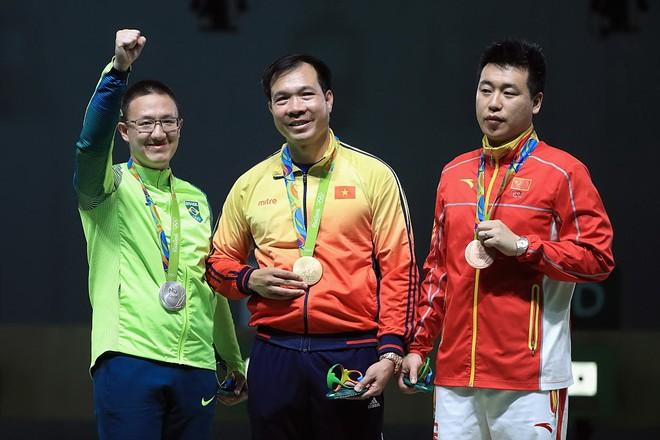 Xạ thủ Hoàng Xuân Vinh thiết lập kỷ lục tại Olympic Rio 2016