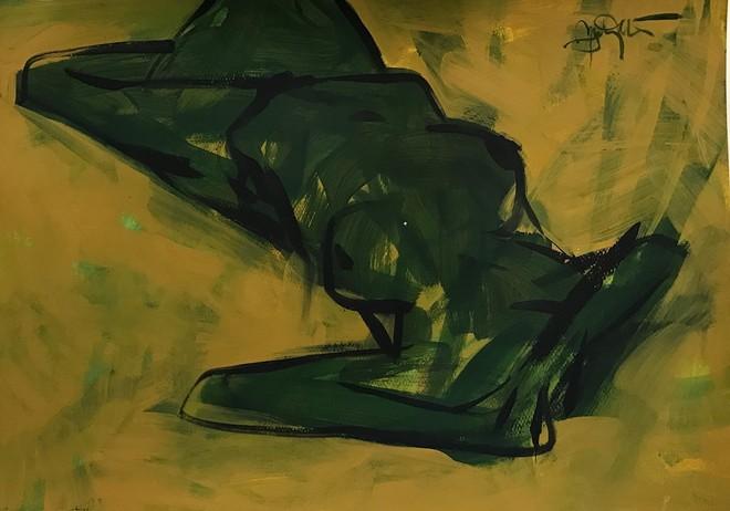 Nguyễn Trung Hiếu, thể hiện mình là một nghệ sĩ sáng tác có một cảm xúc tốt