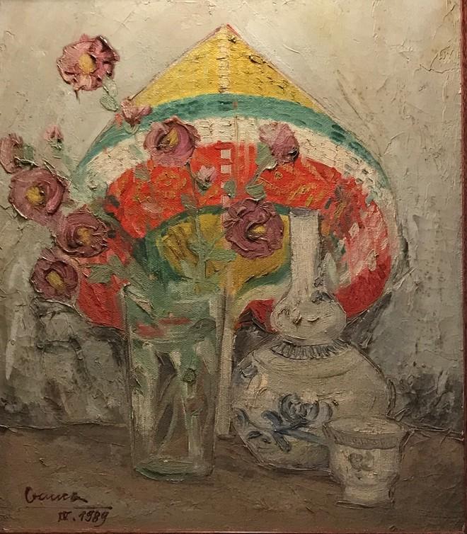 """Tranh của họa sĩ Nguyễn Văn Chung sẽ trưng bày tại triển lãm """"36-59-74"""""""