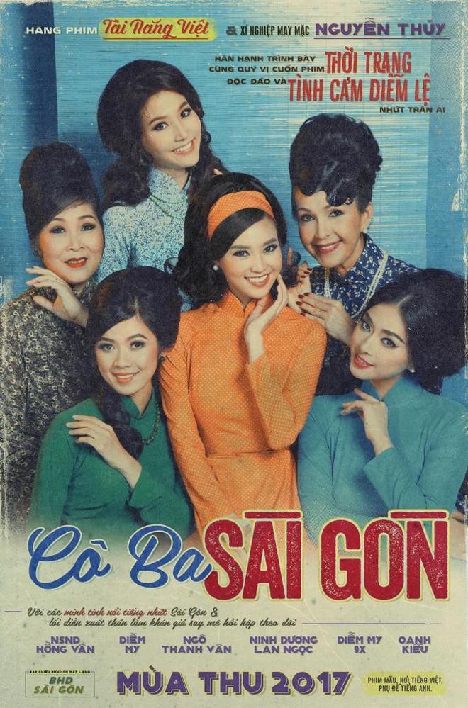 Cô Ba Sài Gòn được công chiếu tại các rạp trên toàn quốc từ 10-11