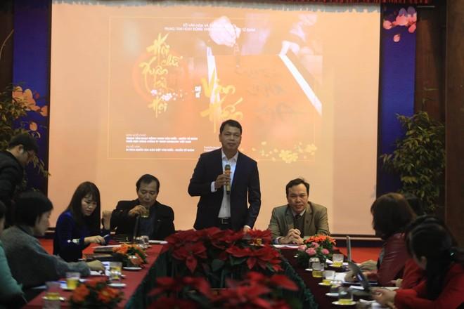 Ông Lê Xuân Kiêu khẳng định, sẽ nghiêm khắc với các hành vi vi phạm truyền thống, văn minh và an ninh trật tự tại Hội chữ Xuân Kỷ Hợi 2019