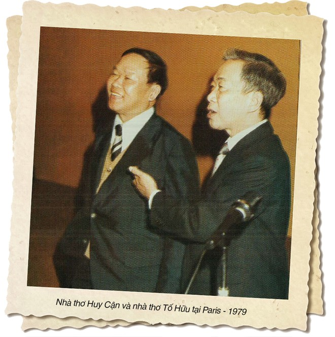 Kỷ niệm 100 năm ngày sinh nhà thơ Huy Cận