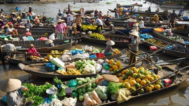 Chợ nổi, nét văn hóa đặc sắc, hình ảnh quen thuộc ở Đồng bằng sông Cửu Long