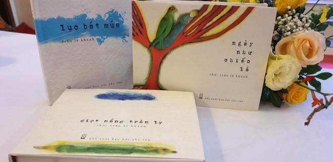 Những tập thơ đã xuất bản trong thời gian qua của Trần Lê Khánh